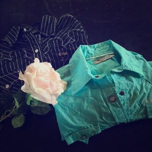Pearl snap button ups